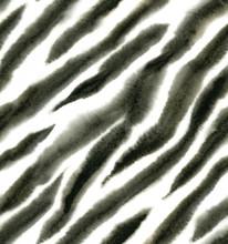 Seamless Zebra Watercolor Patt...