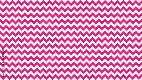 Fotografie, Obraz  serrated striped pink color for background, art line shape zig zag pink color, w