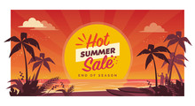 Hot Summer Sale Promotional Ba...
