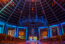 Within The Metropolitan Cathedral Of Christ The King Liverpool.