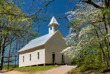 Little White Church In The Smo...
