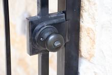 Wrought Iron Gate Doorknob