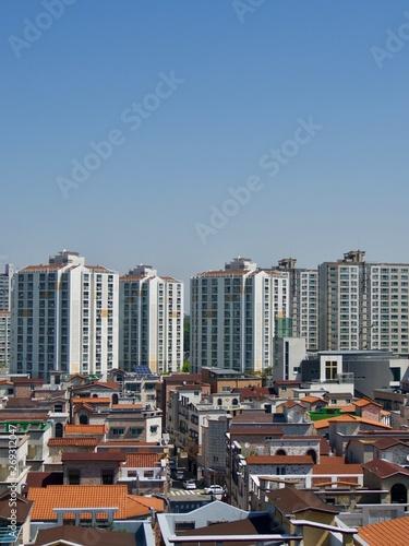 Fototapety, obrazy: 한국 청주시티 도시 풍경