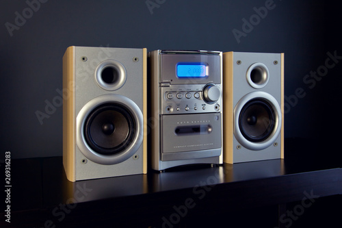 Audio Compact Component Mini Stereo System Canvas Print