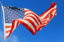Jumbo Beautiful American Flag ...