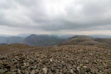 Scafell Pike Summit With Drama...
