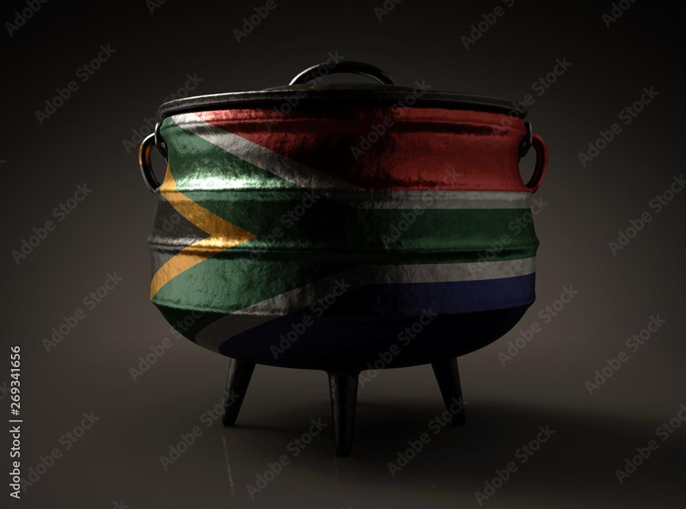 Fototapeta South African Potjie Pot