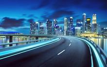 Highway Overpass Modern Singap...