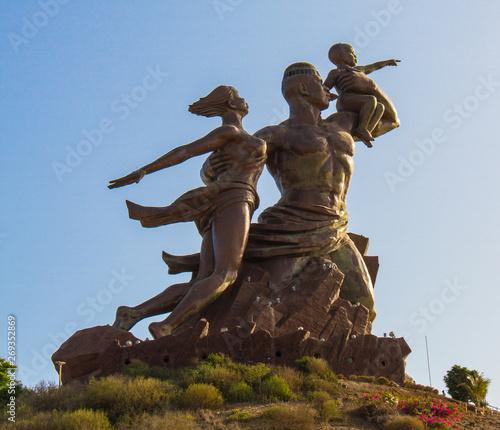 Photo African renaissance monument