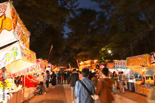 夜の祭りの風景 - 269353600