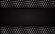 Black Abstract Tech Geometric ...