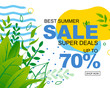 Super Deals Offer for Summer Sale Advertisement