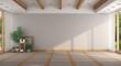 canvas print picture Empty minimalist large room
