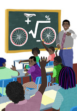 Teaching Children Maths And Bikes