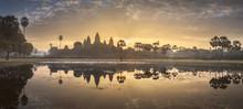 Temple Complex Angkor Wat Siem Reap, Cambodia