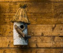 Hand Crafted Bird House Made O...