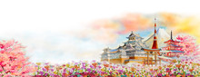 Famous Landmarks Of Japan In S...