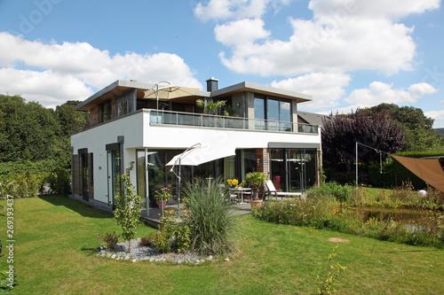 Einfamilienhaus Modern Fenster Architektur Haus Bauen Buy