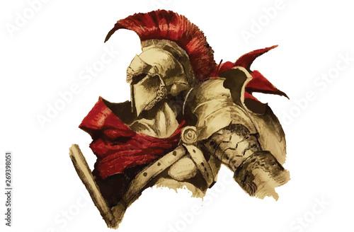 Foto armored warrior