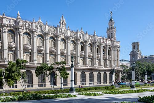 Capitol im Zentrum von Havanna, Kuba Canvas Print