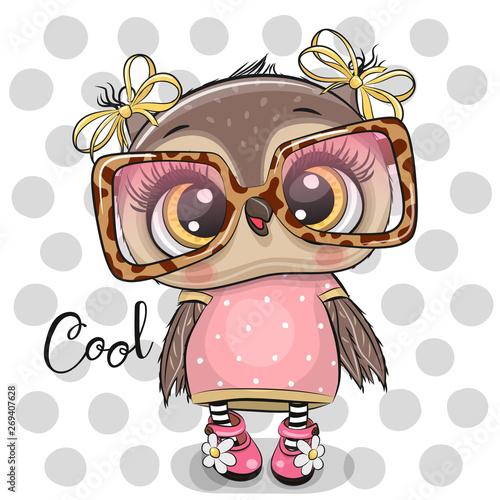 Kreskówka Sowa w różowe okulary