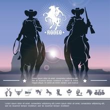 Vintage Cowboy Rodeo Concept
