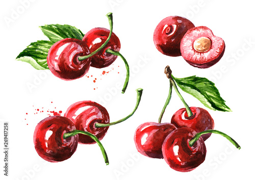 Leinwand Poster Cherry