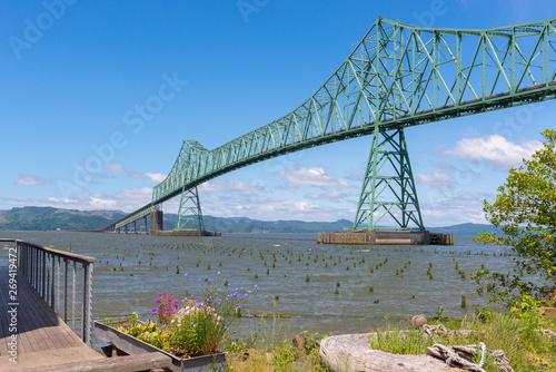 Astoria-Megler Bridge, Astoria, Oregon, USA Canvas Print