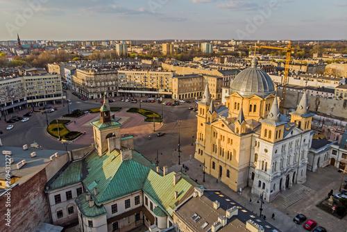 Fotografía Łódź, Polska- widok na Plac Wolności.