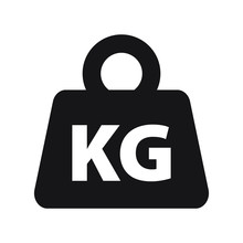 Weight Kilogram Icon Vector Is...