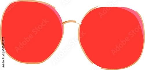 Fototapety, obrazy: Her red shades