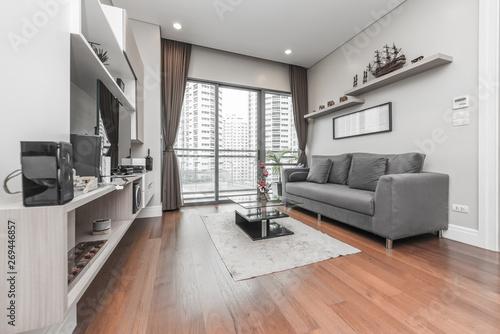 Modern living room interior Slika na platnu