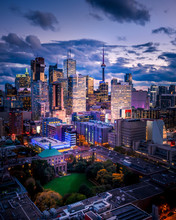 Epic City Skyline Of Toronto Canada