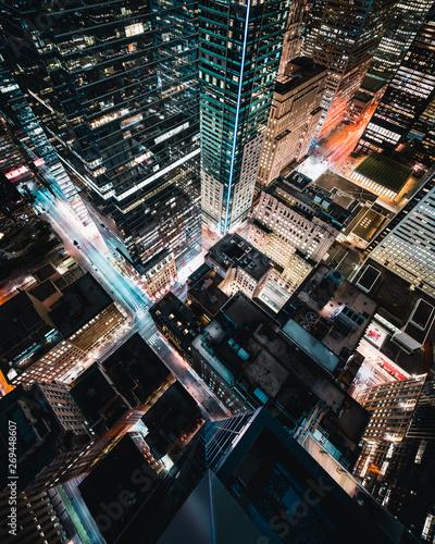 Epic City Skyline of Toronto Canada Fototapete
