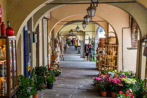 Canvastavla  streets in Greve in Chianti in Tuscany
