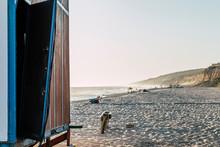 Beach House With Broken Door, ...