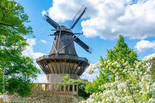 Windmill in Sanssouci park, Potsdam, Germany