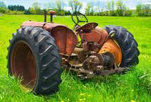 Struggling Family Farmers In The American Heartland