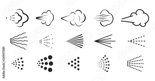 Spray vector icon Canvas Print
