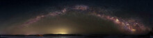 Milky Way Galaxy Over Bush Island Luenburg County Nova Scotia