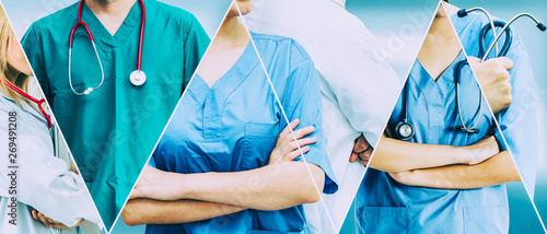 Healthcare people group Fototapet