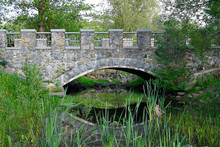 Stone Bridge Over The Creek. F...