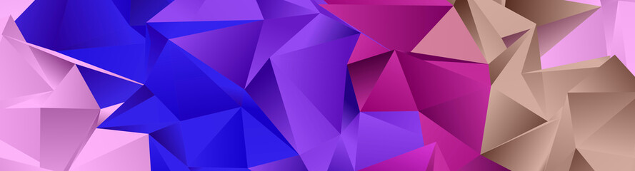 Abstract Low-Poly backgroun...