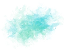 Abstract Beautiful Colorful Shape Watercolor Illustration Painting Background And Texture Backdrop..