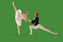 Ballet On Green Screen