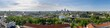Panorama of the city Vilnius, Lithuania