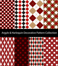 Collection Of Argyle / Harlequ...
