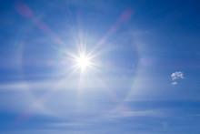 Solar Halo Phenomenon. Spiritu...