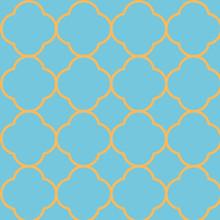 Quatrefoil Seamless Repeat Pattern Design