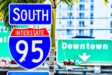 Interstate 95 Street Sign With...